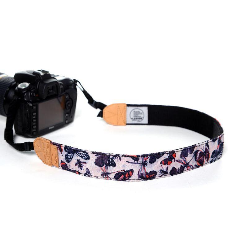 Vintage Buttefly DSLR Camera Strap, One Size - Vlashor | YESSTYLE