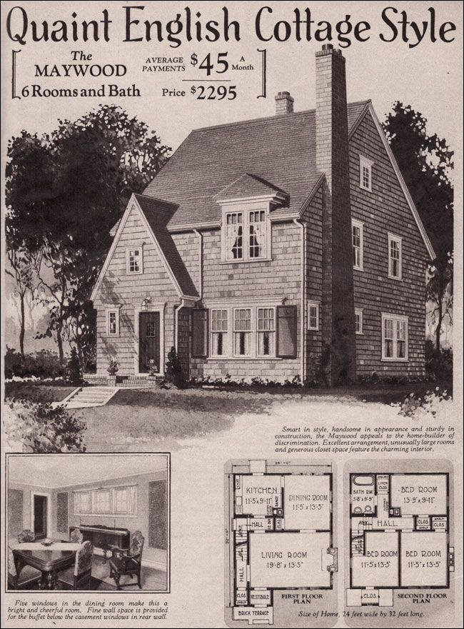 229 best 1930s and 1940s american homes images on pinterest for 1930s house plans