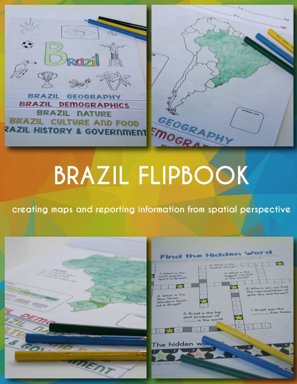 World Geography: Brazil Unit Study - Confessions of a ...