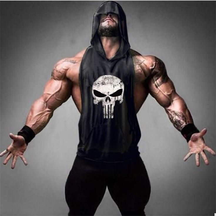Skull Golds Bodybuilding Stringer Tank Tops hoodies