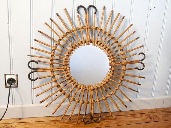 17 meilleures id es propos de miroirs anciens sur for Ancien miroir soleil