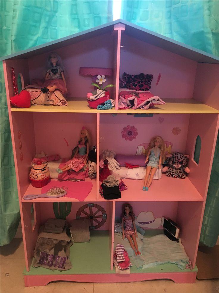 Homemade Barbie house
