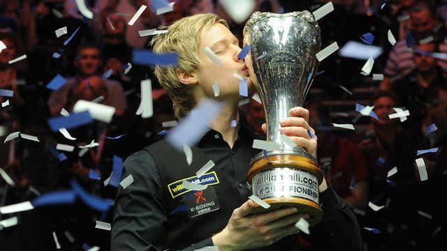 Neil Robertson became only the eighth player in snooker history to win the Triple Crown with a 10-7 victory over Mark Selby at the UK Championship. Robertson, 31, fought back from 5-1 down to add the title to his World Championship and Masters triumphs.
