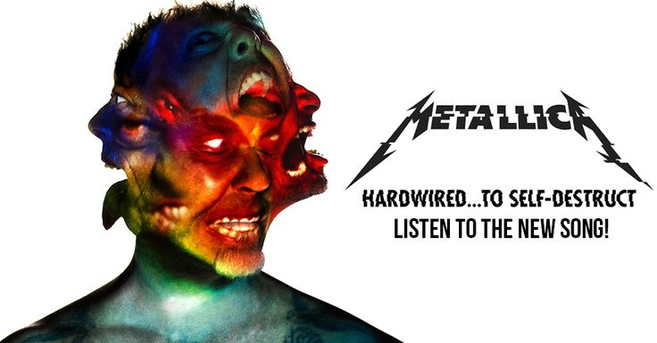 Listen to the new single Hardwired from Metallica here