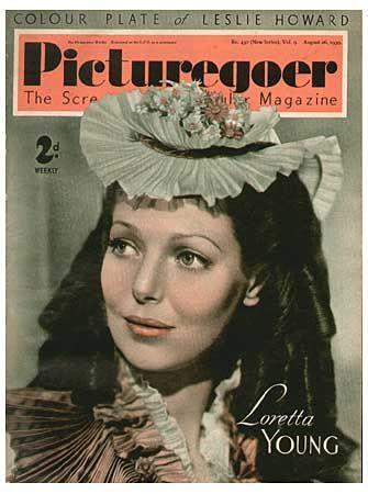 Loretta Young - Picturegoer Magazine [United Kingdom] (26 August 1939)