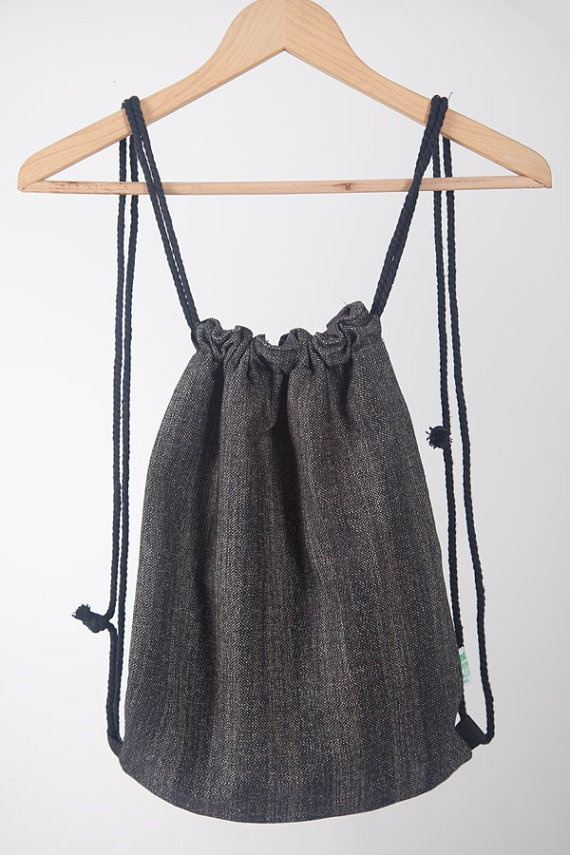 Backpack laptop purse GRACEFUL handmade for by LaIndustriaDeMayka, €14.95
