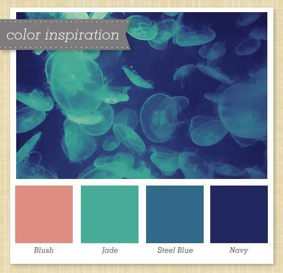 Pink Green Gray And Navy Color Palette 19 Blue Colour