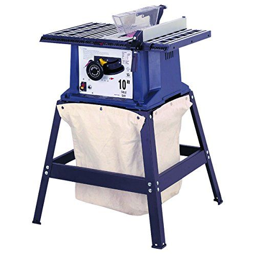 Table Saw Dust Bag Special  Dust collector works without expensive hardware  Requires only simple drilling to install  Heavy duty canvas  Easy snap-on attachment  Attaches easily to most open stand table saws