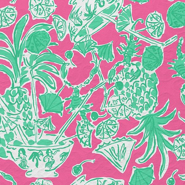 Scorpion Bowl, Resort 2012: Lilly Pulitzer, Patterns, Lilly Prints, Wallpaper, Pulitzer Prints, Favorite Lilly, Lillyprints, Bowls