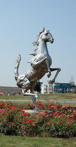 The Prancing Horse, symbol of Ferrari