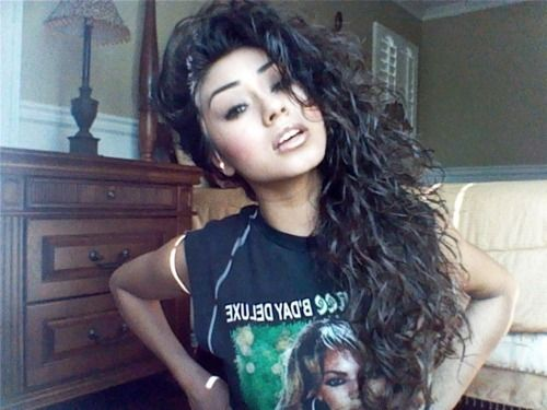 Curly Hair Swag Tumblr