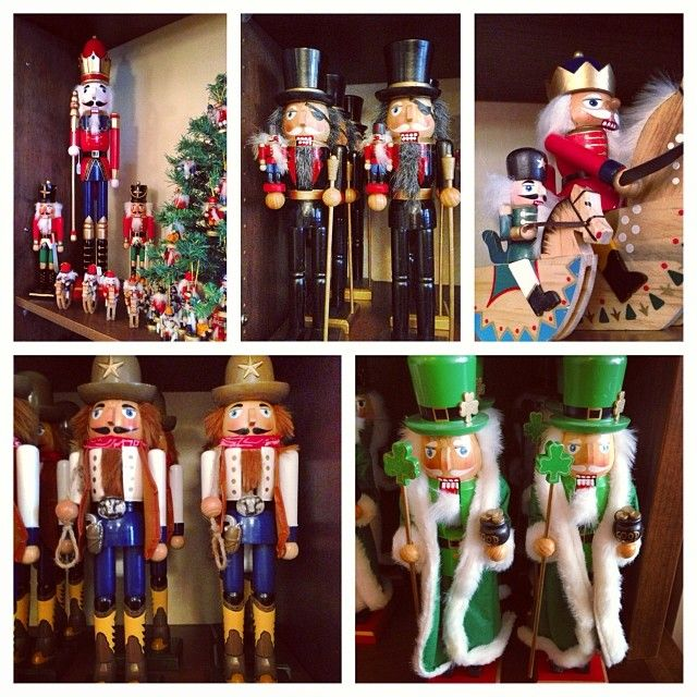 #Nutcrackers! Big ones, little ones, nutcrackers with eye patches, nutcracker cowboys, baseball players, nutcrackers in kilts- if you can think it we've probably got it! #christmas #shopping