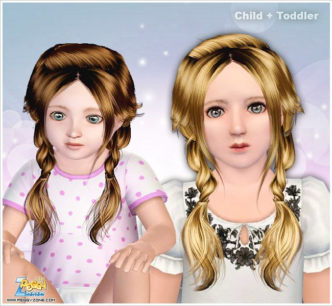 Remarkable 1000 Images About The Sims 3 Hair Child Toddler Amp Baby On Short Hairstyles For Black Women Fulllsitofus