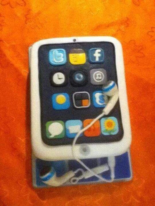 Torta de ipod o iphone