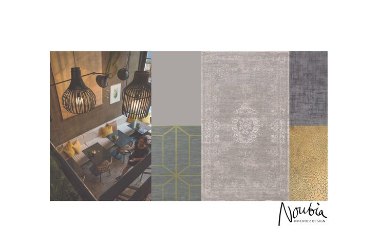 Moodboard for a family home in Almere by www.noubia.com.