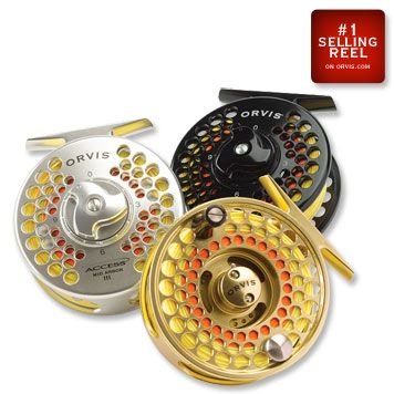 www.Orvis.com For those pursuant of a classic Fly Reel that does most everything... the Orvis Mir - Arbor Reel at around $100 is it!  In gold, silver, and black.