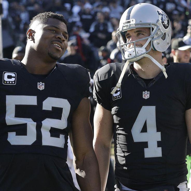 Ranking Oakland Raiders' 10 Most Important Contributors in 2017 | Bleacher Report