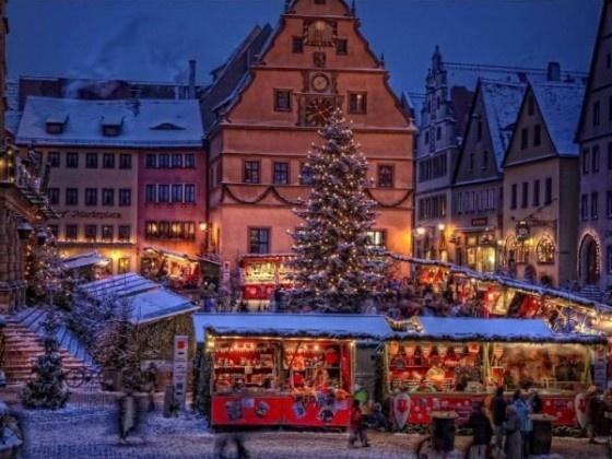 #Christmas in Rothenburg ob der Tauber #Germany
