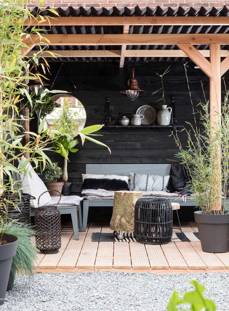De veranda van Linda en Michael uit aflevering 3, seizoen 2 | kijken kopen en klussen | Make-over door: Leonie Mooren | Fotografie Barbara Kieboom