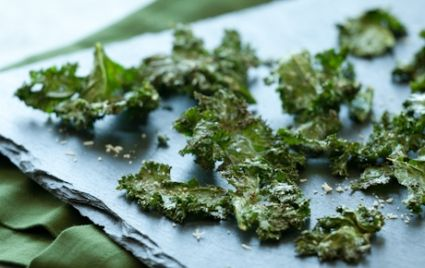 Roasted Kale Chips with Parmigiano-Reggiano | Whole Foods Market
