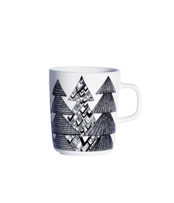 Kuusikossa Mug  Sami Ruotsalainen designed this mug as part of the Oiva dinnerware collection created just for Marimekko. The simple, cl...