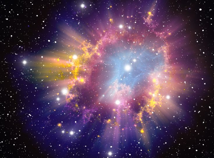 """Supernova (Credit: jupeart via Shutterstock)  These dense stars are some of the """"most extreme"""" celestial bodies in the universe VIDEO"""