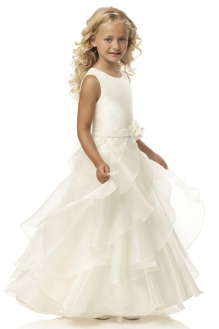 79 best Flower Girl Dresses & Hairstyles images on Pinterest ...