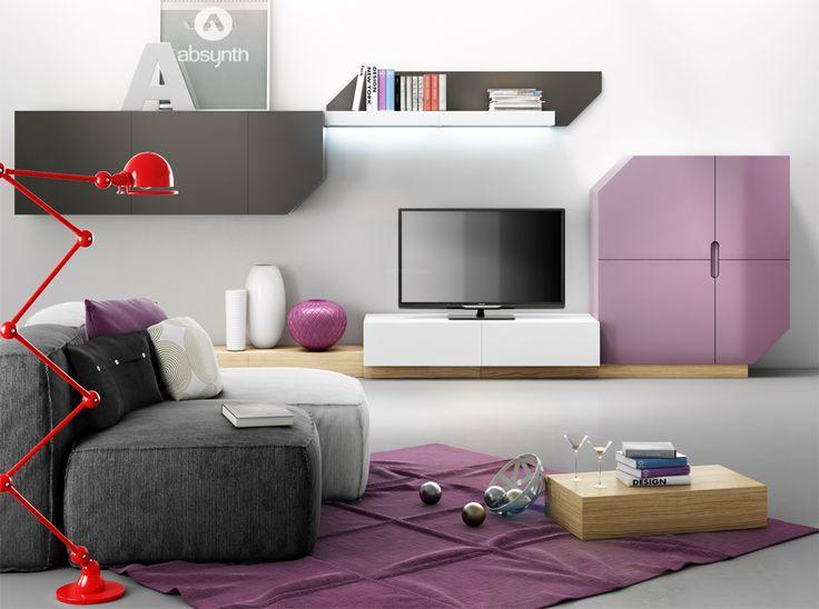 Zestaw mebli do salonu w stylu nowoczesnym. Dobre bo polskie i w różnych kolorach:) http://gotowewnetrza.pl/sklep/zestaw-mebli-do-salonu-nook/