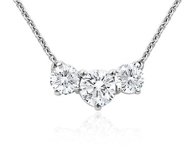 3 diamond pendant