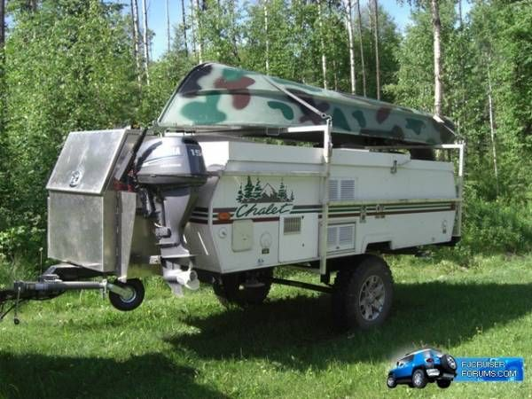 Awesome Set Up For This Hardworking A Frame Trailer