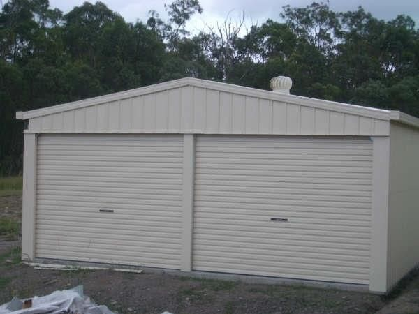 Double Garage 2 Roller doors, great for car or boat or tool storage, Quality at affordable prices...
