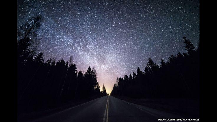 Las impresionantes noches estrelladas del norte del mundo - BBC Mundo