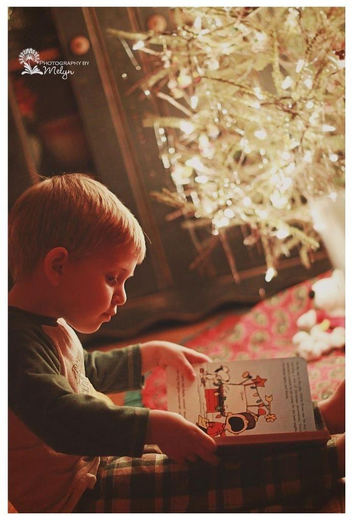 Christmas photography toddler