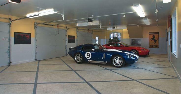 Garage Floor Coating Info - The Concrete Network