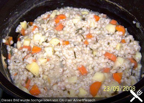 Vegetarische Gräupchen, ein sehr leckeres Rezept aus der Kategorie Eintopf. Bewertungen: 14. Durchschnitt: Ø 3,8.