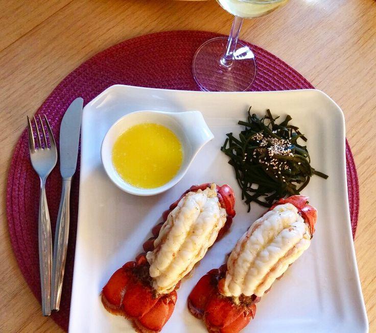 #Gourmet #Rezept #Rezepte #recipe #Lifestyle #Glamour #Hummer #Lobster #Kanada #Irland #Trend #trendy #Trends #Seegrass #Seaweed #Connemara #Sesam #Butter #Grill #Hummerschwänze  An dieser Stelle gibt es immer ein Rezept zum ausprobieren.