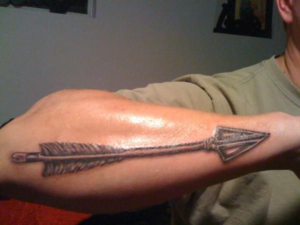 103 best images about tattoos on pinterest for Arrow tattoos for guys