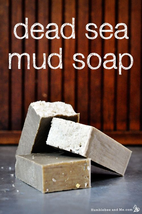 Cold Process - Dead Sea Mud Soap Recipe