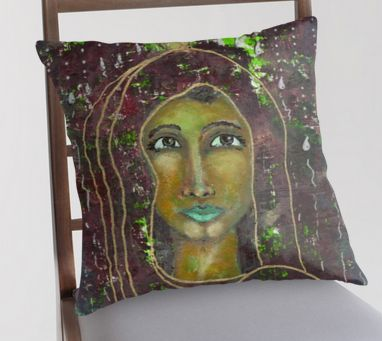 Sarah ~ Decorative throw pillows available here: #goddess #spiritual #feminine #divine #home #decor