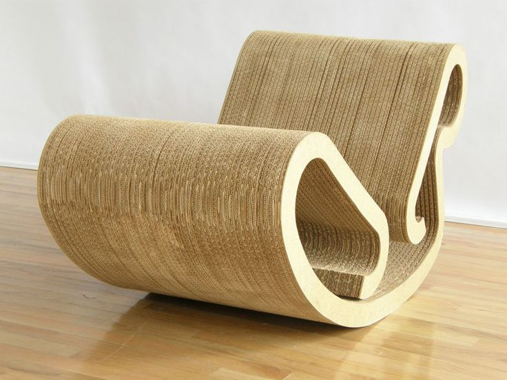 Amazing Furniture Cardboard ~ http://www.lookmyhomes.com/wonderful-frank-gehry-furniture-cardboard/