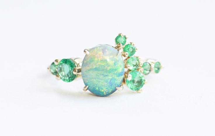 best 25 black opal ring ideas on australian