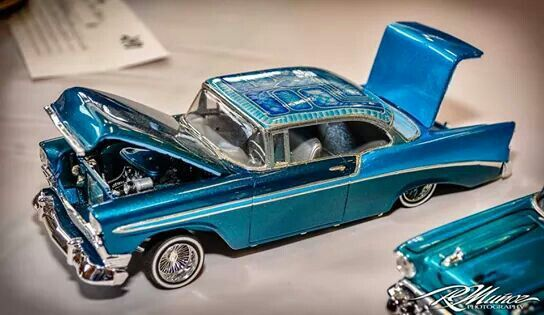 Revell 1956 Chevy Model car lowrider.