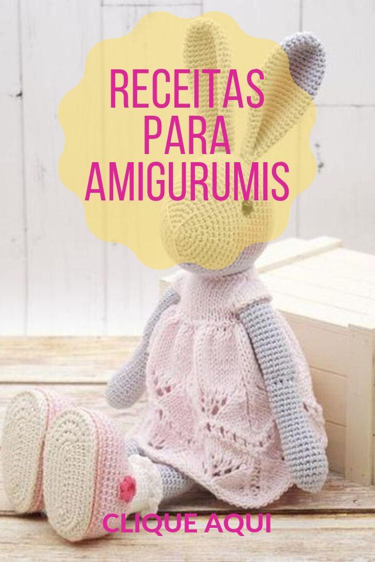 Aprenda Como Ler Receitas de Amigurumi | Revista Artesanato | 1102x735