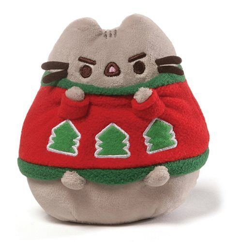 Pusheen the Cat Pusheen Holiday Sweater 4 1/2-Inch Plush