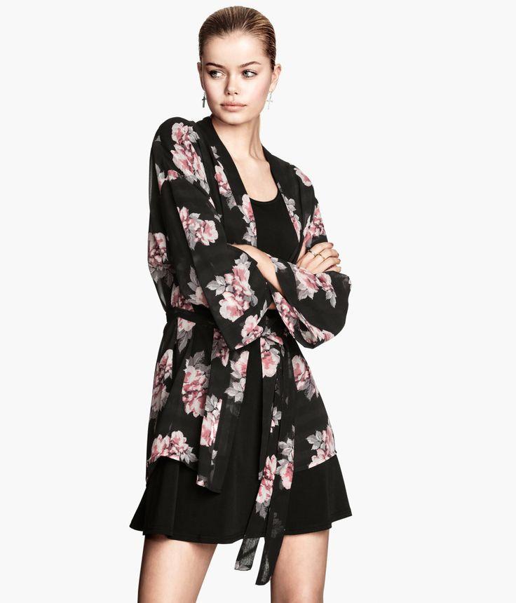 H&M Floral kimono | Closet | Pinterest