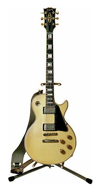 Randy Rhoad's 1974 Gibson Les Paul Custom.