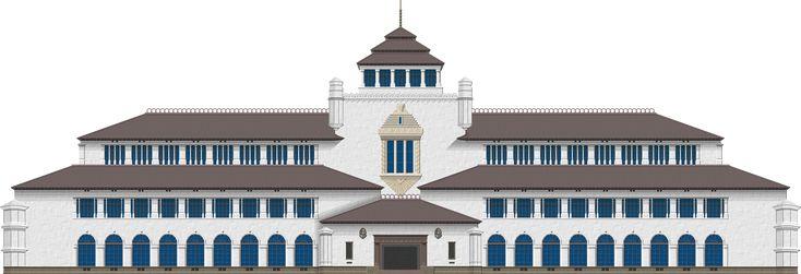 Gedung Sate by Herbertrocha.deviantart.com on @DeviantArt