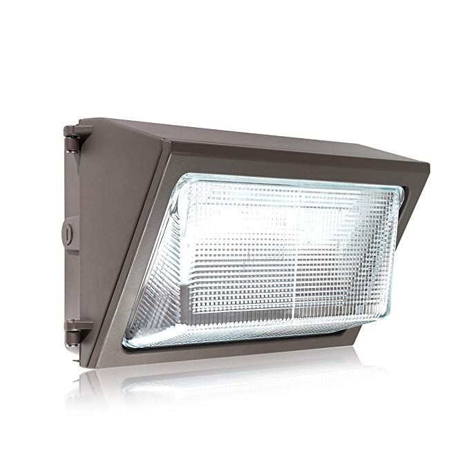 Parmida Led Wall Pack Light Fixture 80w 350w Mh Replacement 0 10v Dimmable 5000k 9600lm Etl Made With Real Glass Waterproof Rated Outdoor Wall Light R Wall Pack Lights Outdoor Wall Lighting