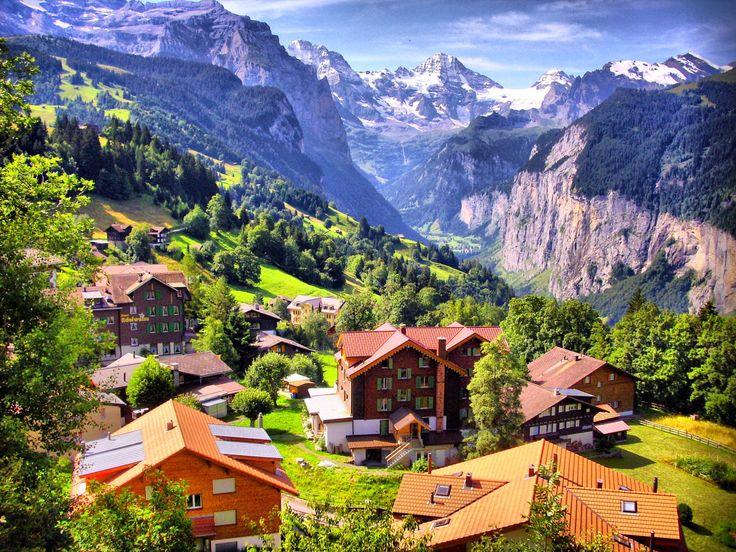 Resultado de imagem para wengen suiça