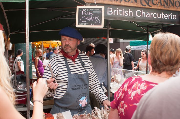 Trying British charcuterie